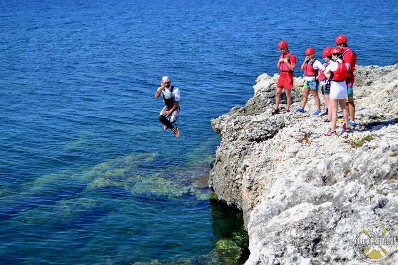 Outdoor activities - Coasteering
