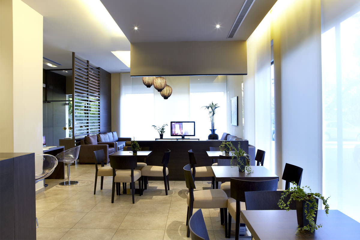 Reception and Lounge