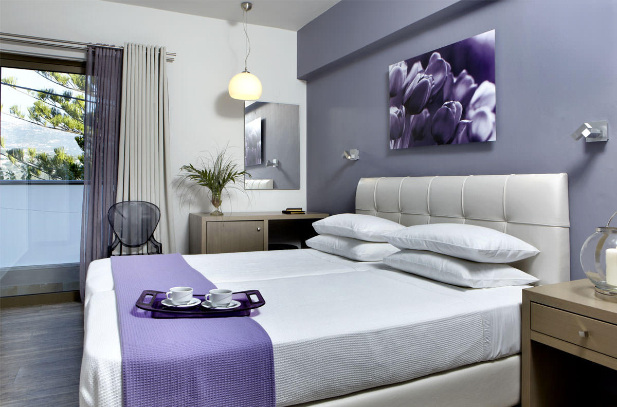 Double or Twin room with sea view 20m2